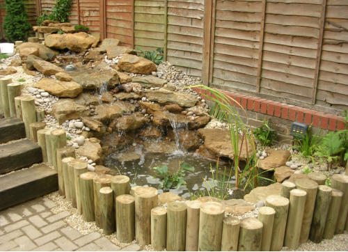 Ponds water features for Elevated koi pond